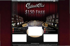 Cabaret Club Casino screenshot