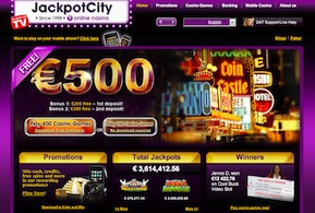 Jackpot City Casino screenshot