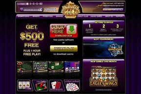 Mummys Gold Casino screenshot